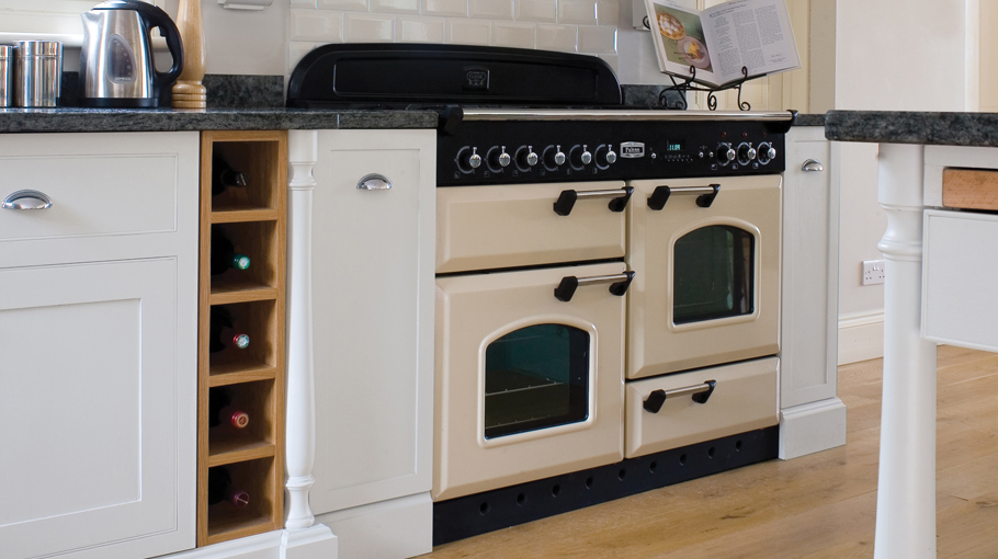 Falcon Classic 110 Dual Fuel Cream Chrome oven