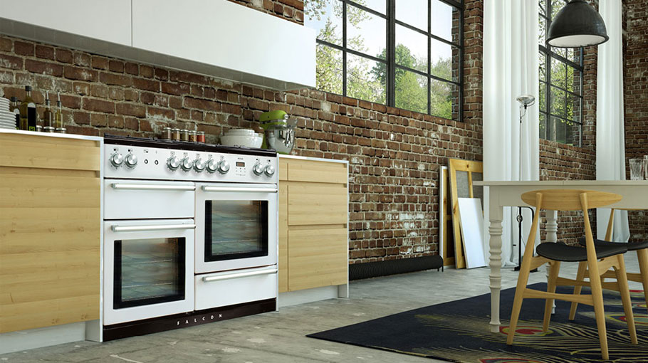 Falcon oven nexus white