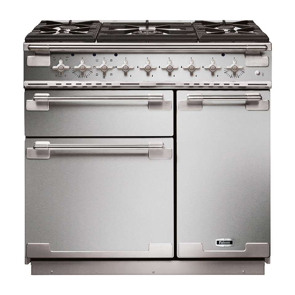 Falcon Elise 90cm Dual Fuel Oven stainless steel
