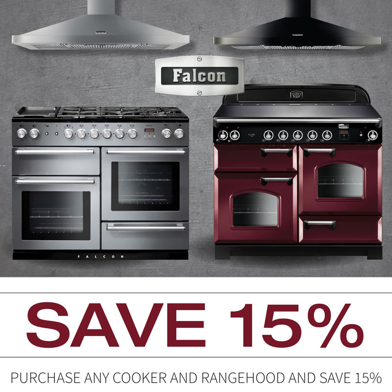 Falcon Oven sale - 15% off Cooker + Rangehood