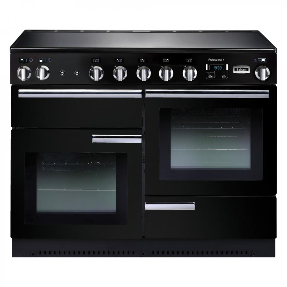 Falcon Professional+ 110cm Induction  Black Oven